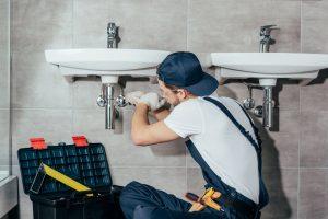 Rheem hot water tanks — Retail Plumbing in Athens, OH Area